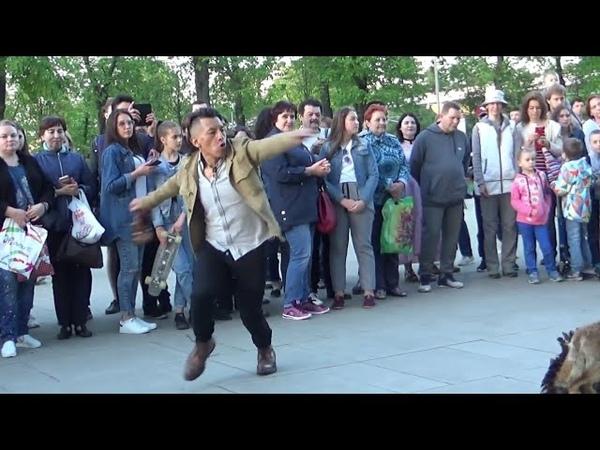 Вот это Да Танец огня танцует зритель Sumac kuyllur ~Danza del fuego Inti Taki Moscow ВДНХ