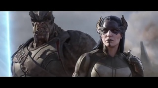 Thor Arrives in Wakanda w/ Immigrant Song HD
