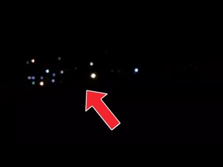 Probably a huge spaceship spotted in the Venezuelan sky