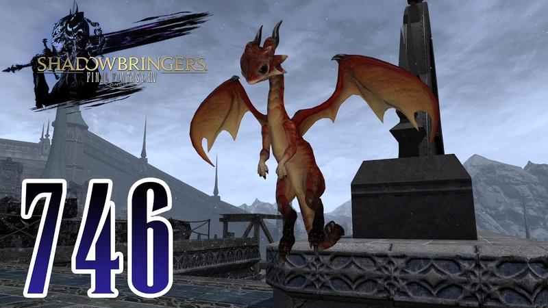 Final Fantasy 14 SDBS Deutsch 746 Ein Drache als Handwerker