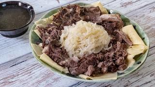 Лучшее блюдо для стариков или почему я люблю киргизский бешбармак.