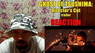 Призрак Цусимы Режиссёрская Версия Трейлер Реакция Ghost of Tsushima: Directors Cut Trailer Reaction