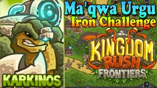 Kingdom Rush Frontiers HD Ma'qwa Urgu Iron (Level 10) Hero Karkinos