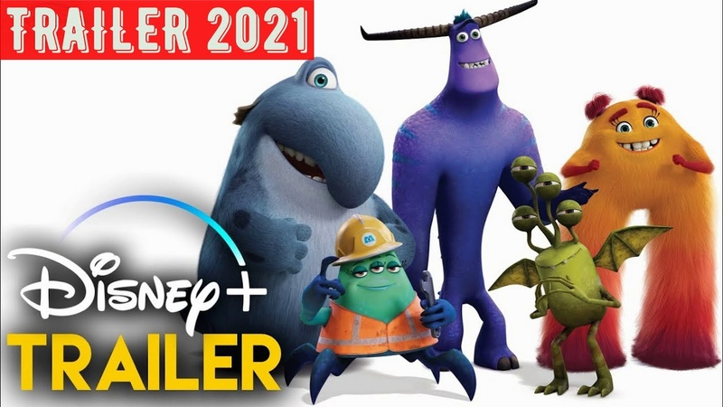 Monsters At Work 2021 Disney Serie Tráiler Oficial Español Latino