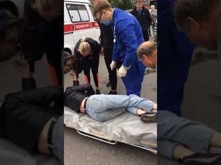 Маршрутка сбила девушку на пешеходном переходе в Челябинске