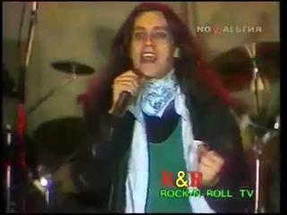 """А.Монин, рок-группа """"КРУИЗ"""". Фестиваль """"РОБИН ГУД"""", г.Лыткарино 1993г."""